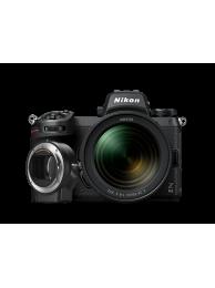Aparat Foto Mirrorless Nikon Z6 II 24.5MP Video 4K Kit cu Obiectiv 24-70mm f/4 si Adaptor FTZ